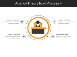 Agency Theory Icon Process 4
