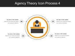 Agency Theory Icon Process 4