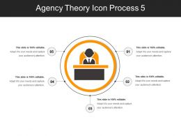 Agency Theory Icon Process 5