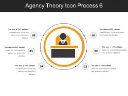 Agency Theory Icon Process 6