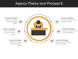 Agency Theory Icon Process 6