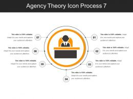 Agency Theory Icon Process 7