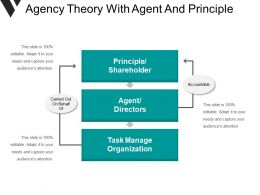 Agency Theory With Agent And Principle