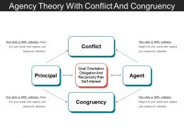 Agency Theory With Conflict And Congruency