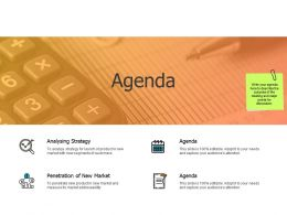Agenda Analysing Strategy A455 Ppt Powerpoint Presentation Model Images