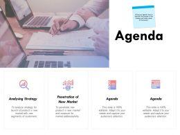 Agenda Analysing Strategy K231 Ppt Powerpoint Presentation Influencers