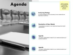 Agenda Analysing Strategy L177 Ppt Powerpoint Presentation File Clipart