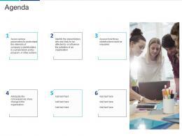Agenda Analyzing Performing Stakeholder Assessment