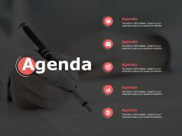 Agenda And Checklist F68 Ppt Powerpoint Presentation Outline File Formats
