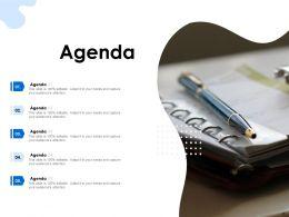 Agenda Attention Ppt Powerpoint Presentation Slides Microsoft