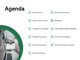 Agenda Budgeting Ppt Powerpoint Presentation Show Summary