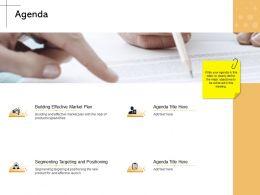 Agenda Building M2159 Ppt Powerpoint Presentation File Background