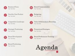 Agenda Business Focus L1257 Ppt Powerpoint Presentation Show