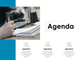 Agenda Business Process Checklist C427 Ppt Powerpoint Presentation Slides Skills