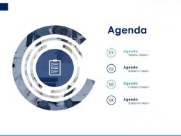 Agenda C1446 Ppt Powerpoint Presentation Portfolio Backgrounds