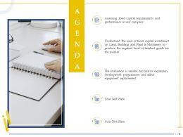 Agenda Capital Investment Ppt Powerpoint Presentation Sample