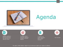 Agenda Checklist Data Analysis F684 Ppt Powerpoint Presentation Outline Outfit