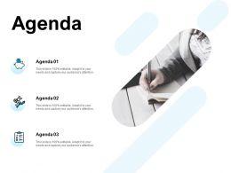Agenda Checklist F844 Ppt Powerpoint Presentation Outline Structure