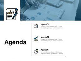 Agenda Checklist Growth D38 Ppt Powerpoint Presentation Slides Model