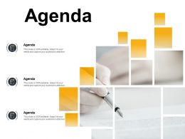 Agenda Checklist Knowledge F364 Ppt Powerpoint Presentation Pictures Diagrams