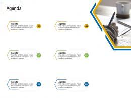 Agenda Content Marketing Roadmap Ideas Acquiring New Customers Ppt Template