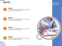 Agenda Continuous System Integration Model Ppt Grid
