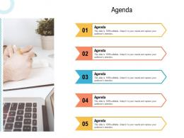 Agenda Creating An Effective Content Planning Strategy For Website Ppt Information