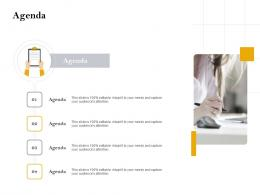 Agenda Customer Retention And Engagement Planning Ppt Information