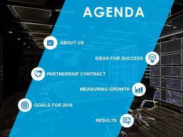 53631978 Style Essentials 1 Agenda 6 Piece Powerpoint Presentation Diagram Template Slide