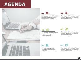 Agenda Dollar Checklist F699 Ppt Powerpoint Presentation Outline Portrait