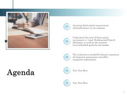 Agenda Equipment Replacement Ppt Powerpoint Presentation Backgrounds