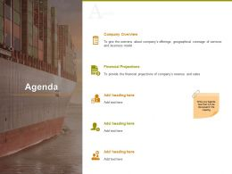 Agenda Financial Projections Ppt Powerpoint Presentation Professional