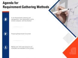Agenda For Requirement Gathering Methods Requirement Gathering Methods Ppt Ideas