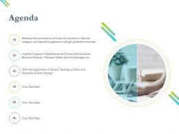Agenda Funding M2576 Ppt Powerpoint Presentation Slide