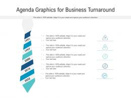 Agenda Graphics For Business Turnaround Infographic Template