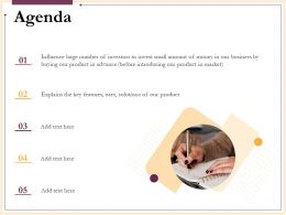 Agenda Introducing Our Product N227 Ppt Powerpoint Presentation Template
