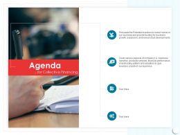 Agenda Investors M431 Ppt Powerpoint Presentation Inspiration Influencers