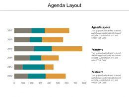 Agenda Layout Ppt Powerpoint Presentation Diagram Templates Cpb