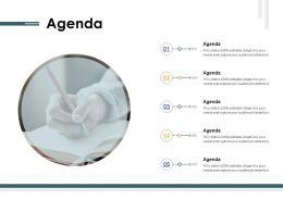 Agenda M92 Ppt Powerpoint Presentation Ideas Tips