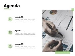 Agenda Management L878 Ppt Powerpoint Presentation Deck