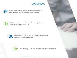 Agenda Management L901 Ppt Powerpoint Presentation Deck