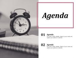 Agenda Marketing Ppt Infographics Example Introduction