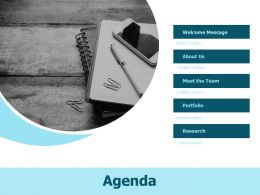 Agenda Marketing Ppt Powerpoint Presentation Infographics Infographic Template