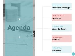 Agenda Meet The Team K79 Ppt Powerpoint Presentation Infographic Aids