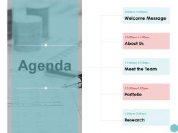 Agenda Meet The Team K79 Ppt Powerpoint Presentation Infographic Aids