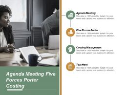 Agenda Meeting Five Forces Porter Costing Management Acquisition Valuation Cpb