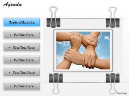 Agenda Of Unity Concept With New Agenda 0214