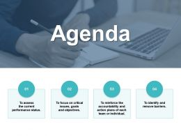 Agenda Performance Status B13 Ppt Powerpoint Presentation File Graphics