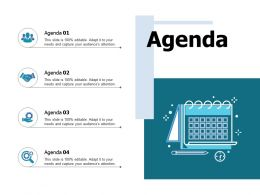 Agenda Planning Ppt Portfolio Slide Portrait