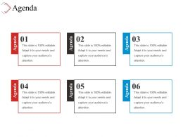 Agenda Powerpoint Graphics